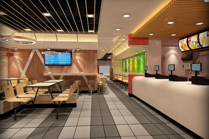 汉堡店加盟豪华店铺